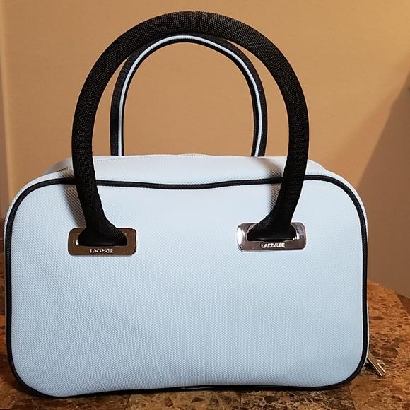 Lacoste Handbags - Lacoste Baby Blue Handbag